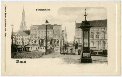 Memel Börsenbrücke