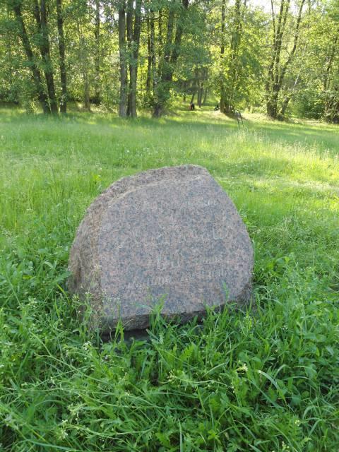 Jubiliejinis akmuo kompozitoriui Juozui Žilevičiui