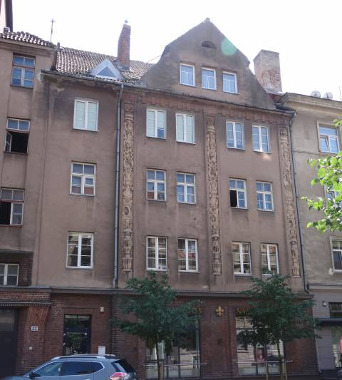 The Building at 22 Liepų st.