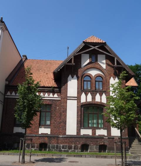 The Building at 35 Liepų st.
