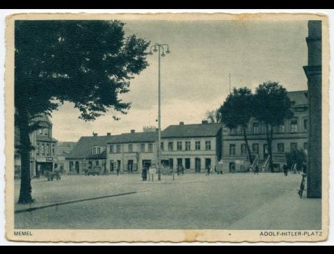 Memel. Adolf-Hitler-Platz