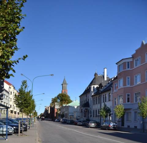 Liepų gatvė (Alexanderstrasse)