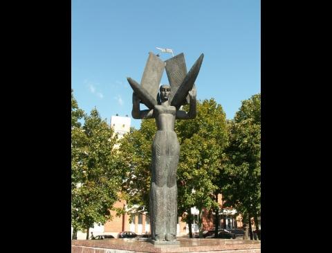 "Skulptūra ""Neringa"""
