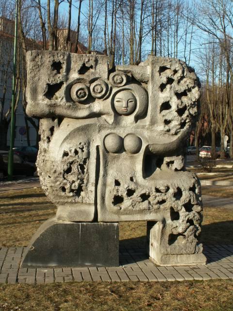 """Skulptūra """"Putamarė"""""""