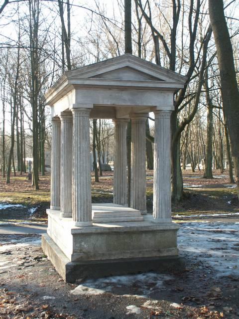 Julius Liudvikas Vyneris's tombstone