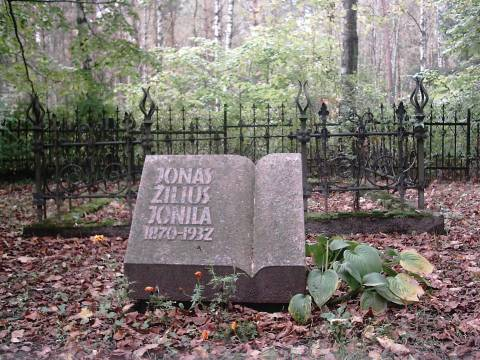 The Tombstone Monument, Dedicated to Jonas Žilius-Jonila