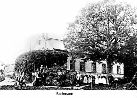 Bachmano dvaro rūmai