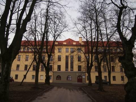 The psychiatric hospital