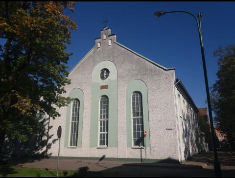 Die Kirche der evangelischen Baptisten in Klaipėda
