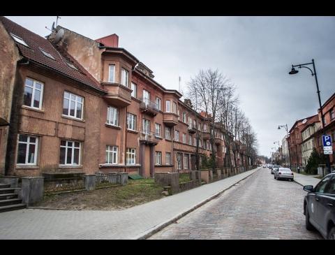 I. Kanto gatvės pastatai
