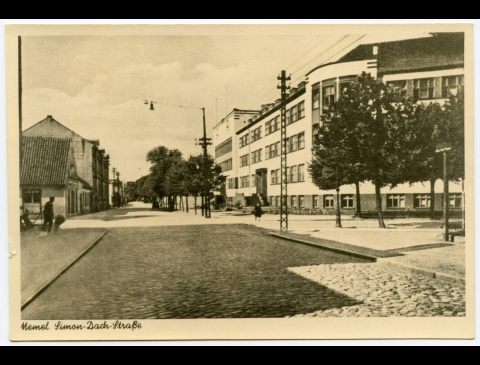 Simono Daukanto gatvė (Simon Dach Strasse)
