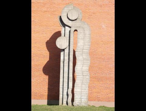"""Skulptūra """"Jūratė ir Kastytis"""""""