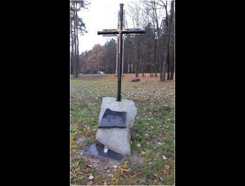 Kryžius išniekintiems partizanams