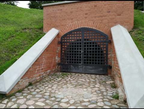 The Complex of Tunnels of Klaipėda Old City Fortifications Used as Antiaircraft Hiding Places
