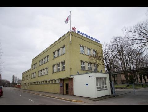 """""""Klaipėdos energijos"""" pastatas"""
