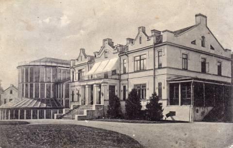 Kretingos dvaro rūmai ir Žiemos sodas
