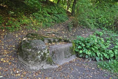 The Kretinga Manor Park Stone-Bench