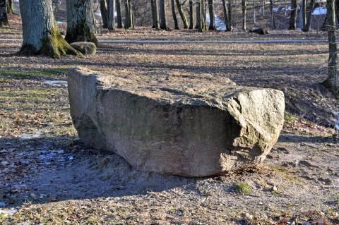 The Kretinga Manor Park Stone of Countess Sofija