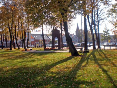 Senovės šventvietė Rotušės aikštėje