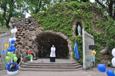 Kretingos Lurdas Lietuvos vaikų chorų šventės metu