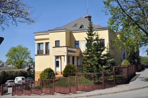 Kretingos banko rūmai iš pietų pusės