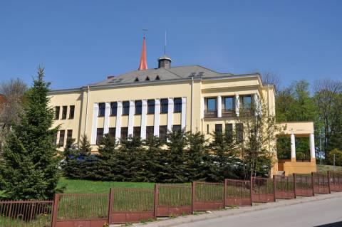 Kretingos banko rūmai iš vakarų pusės