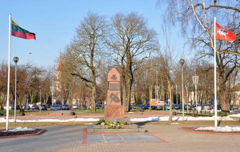 The Monument, Commemorating Ten Years of Lithuania's Independence in Kretinga (The Freedom Monument)