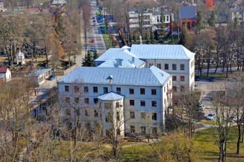 Šv. Antano rūmai iš bažnyčios bokšto