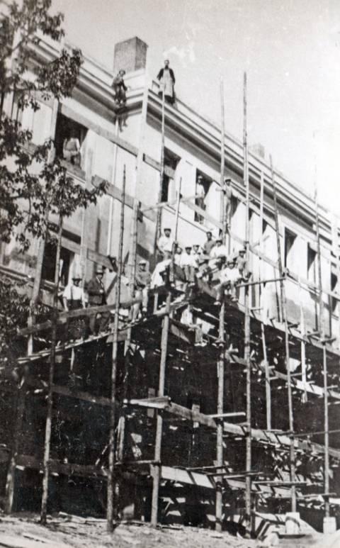 Šv. Antano rūmų statybų baigiamieji darbai