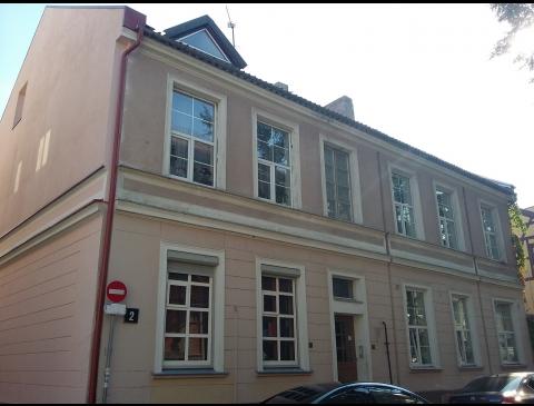 Gebäude in der Kurpių Strasse 2