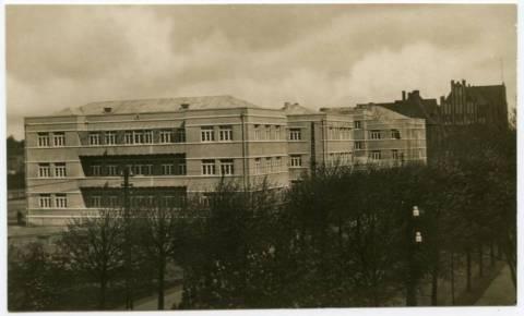 Больница Raudonojo Kryžiaus (Красного Креста)
