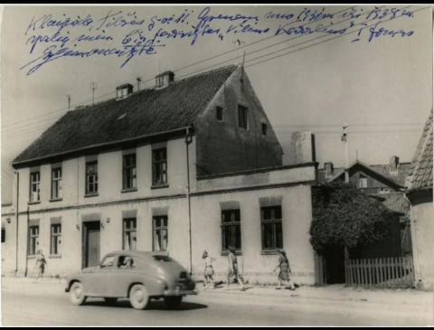 Pastatas Tilžės g. 13 , kuriame gyveno I. Simonaitytė