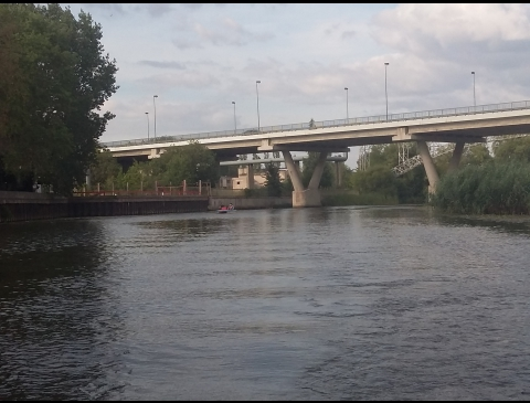 Die Brücke in der Schulstrasse
