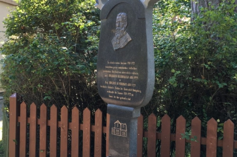 Monument to Adalbert Bezzenberger