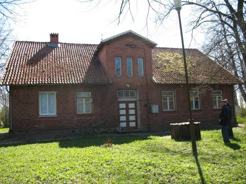 The old primary school of Karklė
