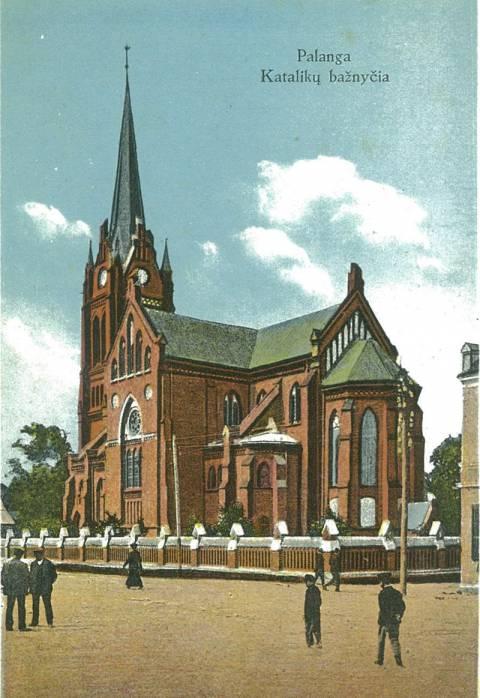 Palanga. Katalikų bažnyčia