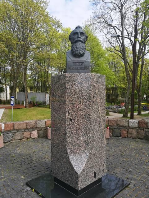 Dr. Jono Basanavičiaus biustas