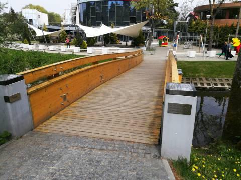 Medinis tiltelis per Rąžę,  pavadintas Josifo Brodskio vardu