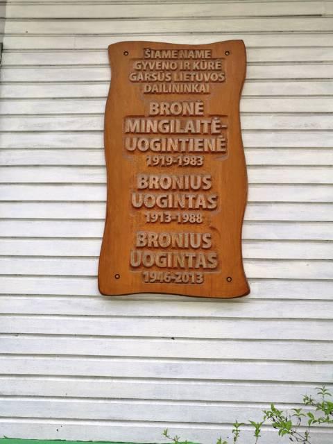Dailininkų Uogintų  namas