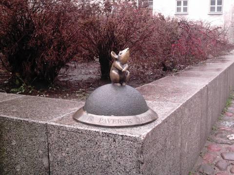 """Skulptūra """"Stebuklingas peliukas"""""""