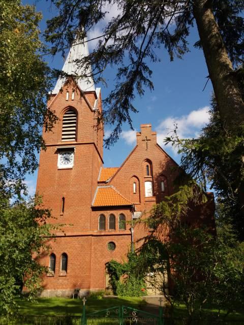 Die evangelisch-lutherische Kirche von Plikiai