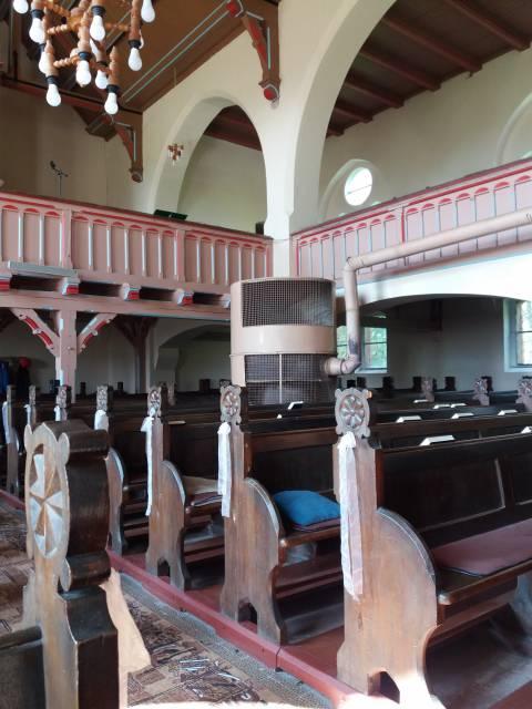 Plikų bažnyčios vidus
