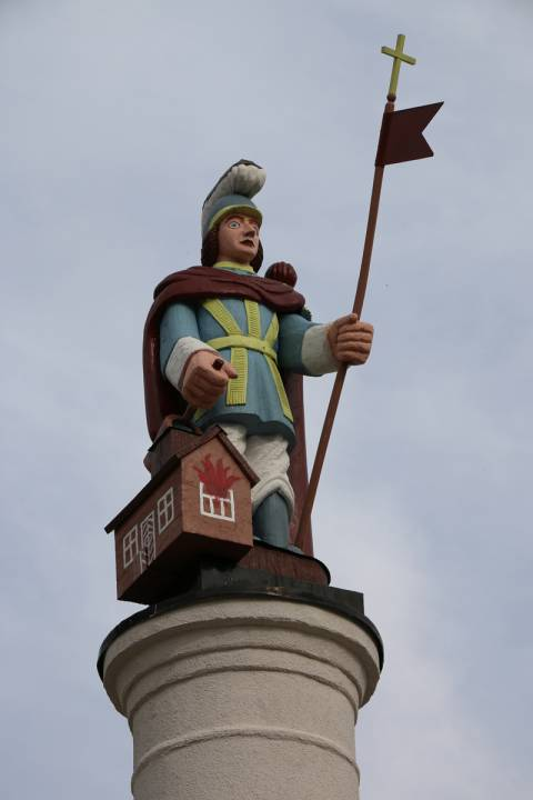 The Monument of St. Florian