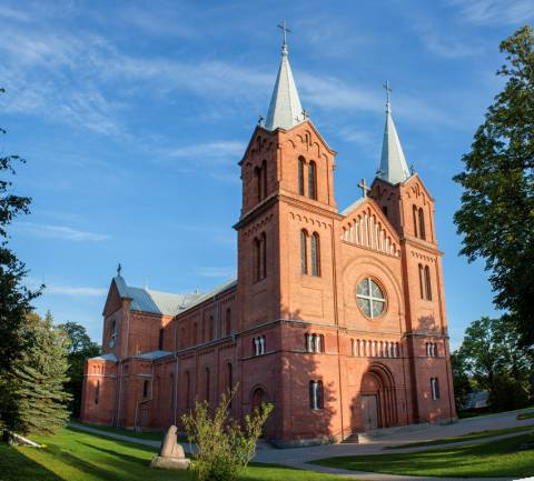 The Plungė Church