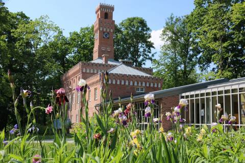 Clock Tower and Conservatory