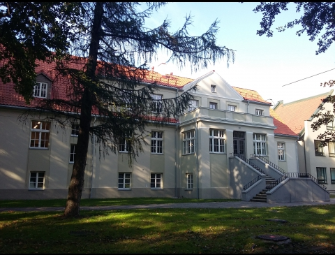 The building of Rumpiškė manor