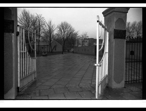 Klaipėdos žydų kapinių vartai