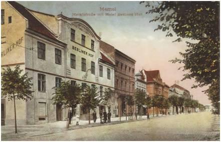 Marktstraβe mit Hotel Berliner Hof