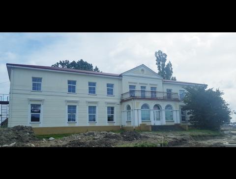 Sendvario rūmų pastatas šiandien