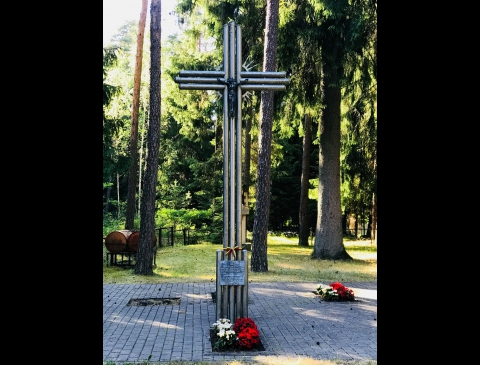 A Cross for the Partisan Vytautas Lukoševičius-Lizdeika